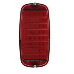 United Pacific CTL6066FSR Tail Light Assembly,60-66 GM Stepside