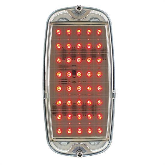 United Pacific CTL6066FSC Tail Light Assembly,60-66 GM Stepside