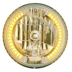 United Pacific 31378 7 Inch Crystal Headlight W/ Position Light