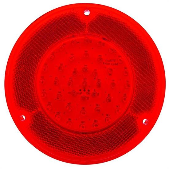 United Pacific CTL6721LED Red 1967-72 Chevy Truck Led Tail Light Fleet side Lens