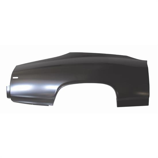 AMD 709-3469-R 69 Chevelle Quarter Panel Skin w/o Door Jamb - RH