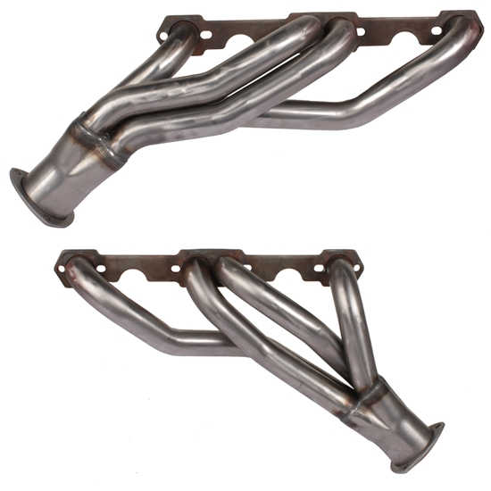 Small Block Chevy Clipster Headers, Raw Finish