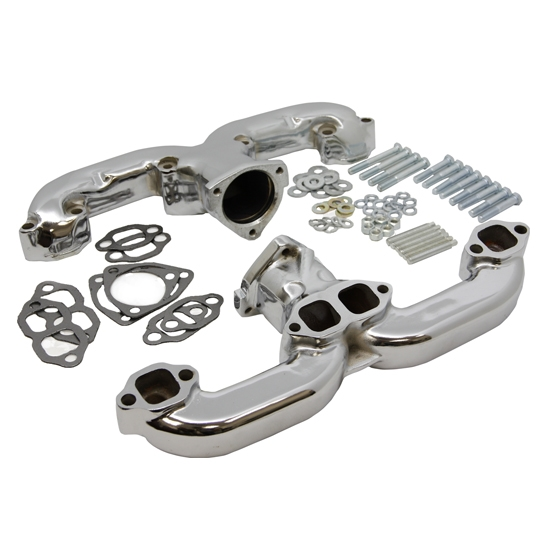 Smoothie Rams Horn Exhaust Manifolds, Small Block Chevy