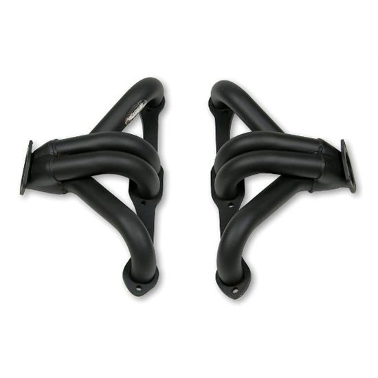 Block Hugger Tight-Fit Headers for ZZ4 Crate Motor, Plain