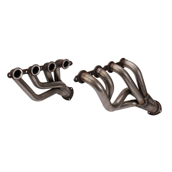 1955-57 Chevy Car LS1 Clipster Headers, Raw Finish