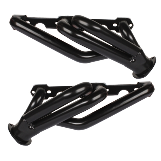 1955-57 Chevy Chassis Headers for Rack and Pinion, Raw Finish