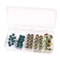 Speed Fast Aluminum SAE/Fine Lock Nut Kit