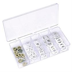 Speed Fast Aluminum AN Washer Kit