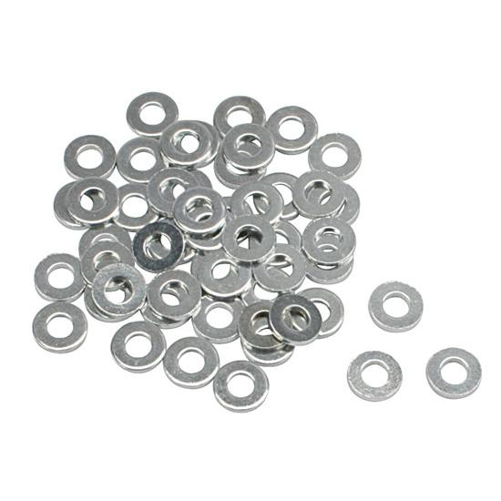 Steel 3/16 Inch AN3 Washers, 50 Pack