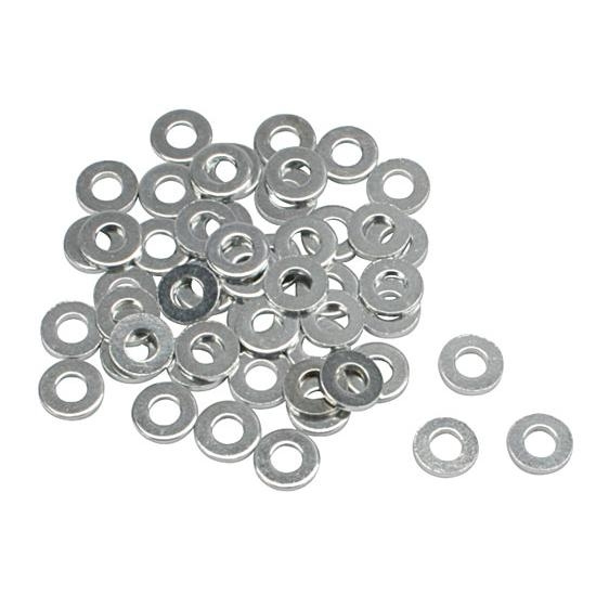 Steel 5/16 Inch AN5 Washers, 50 Pack