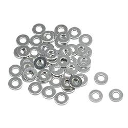 Steel 1/2 Inch AN8 Washers, 50 Pack