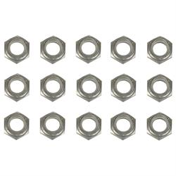 1/2 Inch Aluminum Nylock Bolt Nuts, 15 Pack