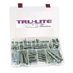 Tru-Lite Titanium Thru-Bolt Style Bolt Kit, Maxim Chassis