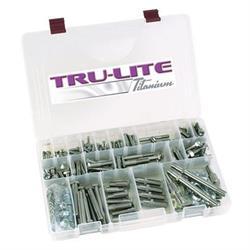 Tru-Lite Titanium Complete Bolt Kit, Maxim Chassis, One Nut RR/DL