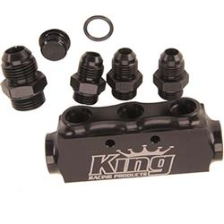 King Racing Products KRP1930 3 Port Return Manifold