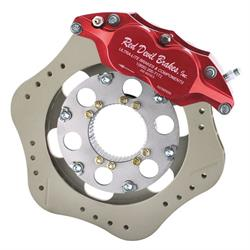 Ultra Lite 410-8200 Scalloped Inboard Brake Kit, .81x10.4 Steel Rotor