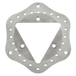Ultra Lite TW-250-1000-3 Titanium Ceramic Coated Solid Scalloped Rotor