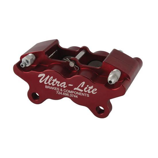Ultra Lite Brakes 140-2433R UltraLite 4 Piston Rear Brake Caliper