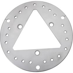 Ultra Lite Brakes C-250-9875-3-NC Uncoated Steel Front Rotor
