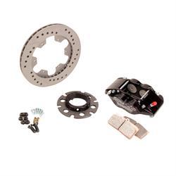Ultra Lite 410-8100B Sprint Inboard Brake Kit, Titanium Rotor, Black