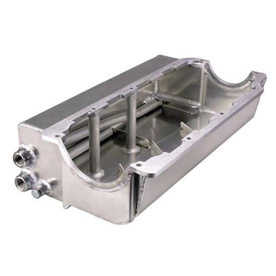 Speedway SBC Small Block Chevy Aluminum Sprint Car Dry Sump Oil Pan