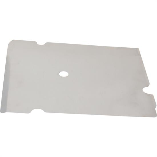 HRP HRP8309 LH Aluminum Short Kick Panel for Raised Rail Chassis, Bare