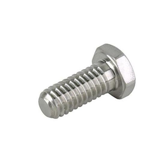 Tru Lite Titanium Bolt, 1/4-20 Coarse Thread, 1/2 In Long, 7/16 In Hex