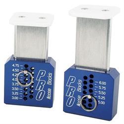 Moose Blocks 5140 Pro 3 Inch - 6 Inch Adjustable Set Up Blocks