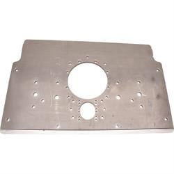 Schnee® Chassis Raised Rail Steel Motorplate, Natural Finish