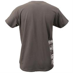 EMi Eagle Motorsports® Sprint Gray Basic T-Shirt