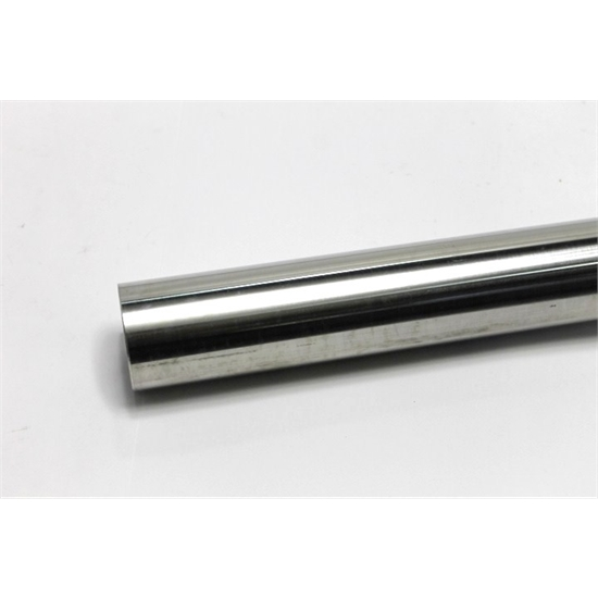 Garage Sale - Polished Stainless Steel Exhaust Tubing, 2-1/2 O.D., 7 Foot Stick