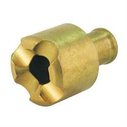 Brass Fuel Pick-Up, -10 AN