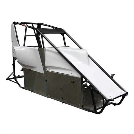 Eagle Motorsports® Midget Chassis and Complete Body Panel Kit