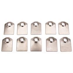 """Standard Quarter-Turn Fastener Spring Plates, 1"""" Spring, Pack/10"""