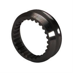 Cone Splined Axle Spacer, 1/2 Inch, Black