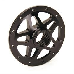 Stallard® Chassis Forged 27 Spline 10 inch Rear Wheel Center, Black