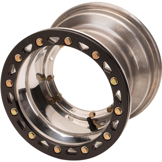 Aero-Dynamics Micro Sprint Front Wheel, 6 X 3 Inch with Beadlock