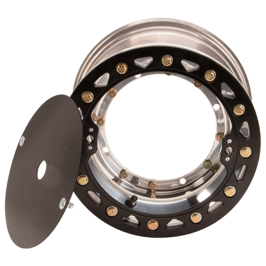 Aero-Dynamics Micro Sprint Fornt Wheel, 8 X 4 Inch with Beadlock