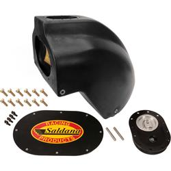 Saldana Racing Products OMS214-BLA Hyper 8 Outlaw Fuel Tank,8 Gal