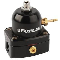 Fuelab 54501-1 Micro Fuel Pressure Regulator, 25-90 PSI