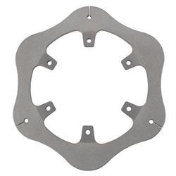 Micro/Mini/600 Titanium Rear Brake Rotor, 6 Bolt x 5 Inch Bolt Circle