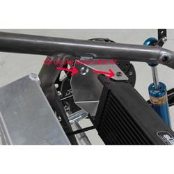 Henchcraft® Lightning Sprint Oil Cooler Mount Bolt Kit, 10-Up