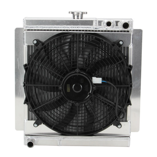 Henchcraft® Chassis Mini Lightning Sprint Radiator w/Fan