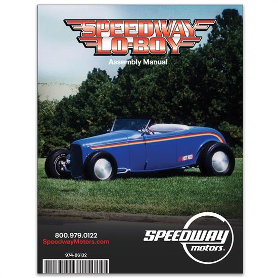 Speedway Lo-Boy Instruction Manual