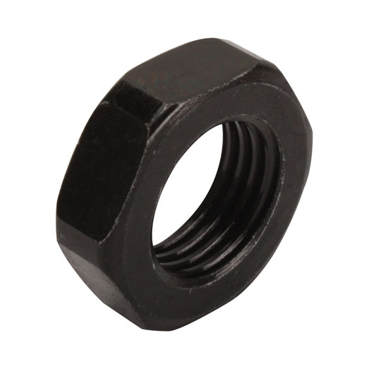 AFCO A550090073X 9/16-18 Jam Nut, Black Oxide Coated