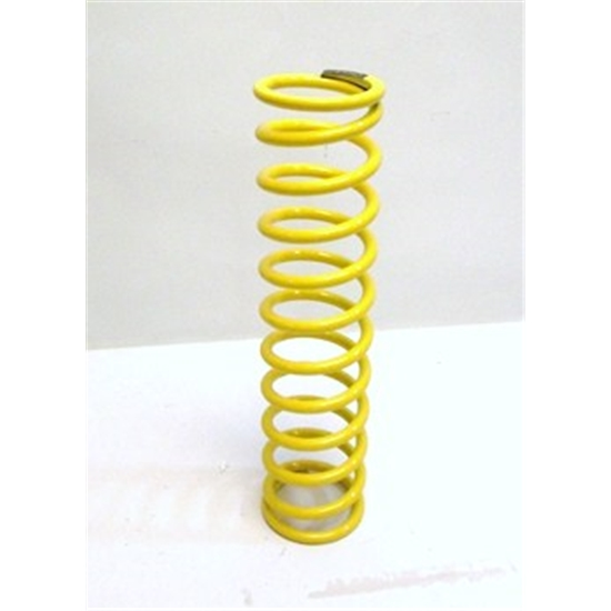 AFCO 14 Yellow Coilover Spring, 100lb Rate, 2-5/8 ID, Oval Track