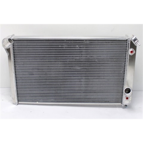 AFCO Direct Fit 1973-76 Corvette Aluminum Radiator, With Trans Co