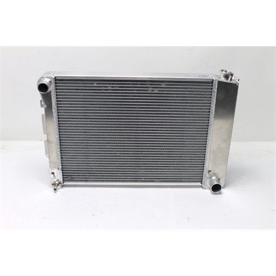 AFCO 80252-S-NA-N Direct Fit 1966-67 Chevelle Alum Radiator, No T