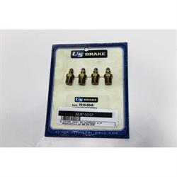 Garage Sale - AFCO 7010-0045 1/8 NPT Bleed Valve Fittings, 4 Pack