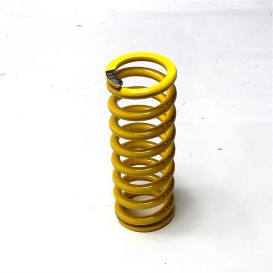 Garage Sale - AFCO Yellow 2-5/8 I.D. Coil-Over Spring, 10 Inch, 450 Rate
